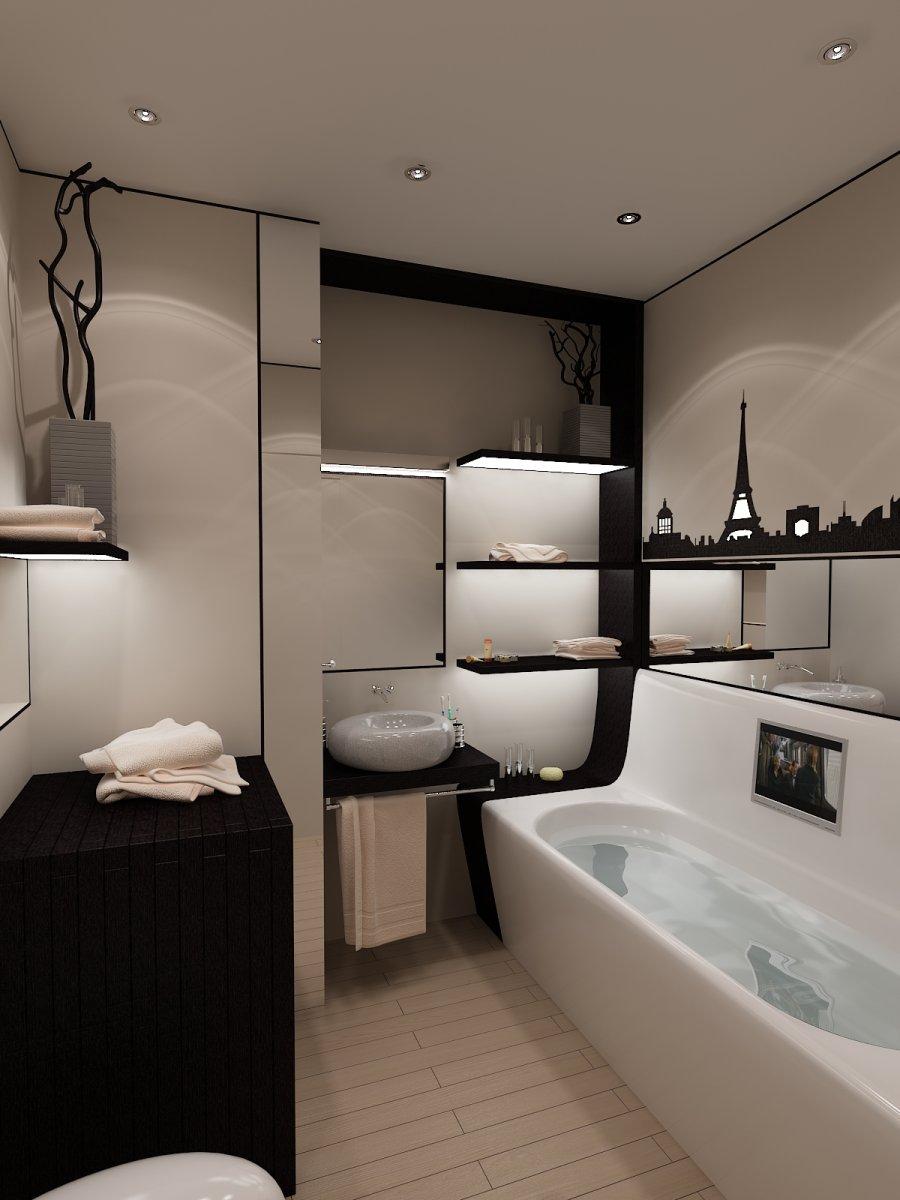 ванная 4 5 кв м фото