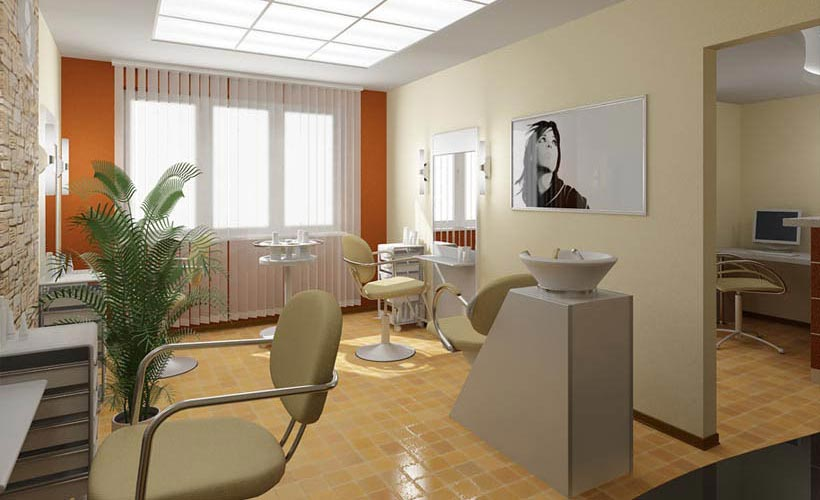 Дизайн салона красоты эконом класса фото