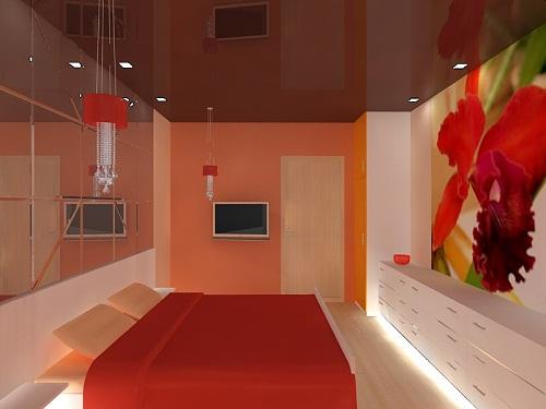 Небольшая комната для молодой пары дизайн