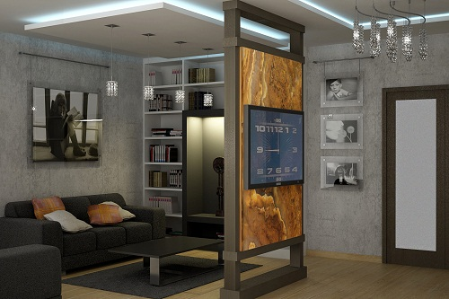 дизайн спальня зал