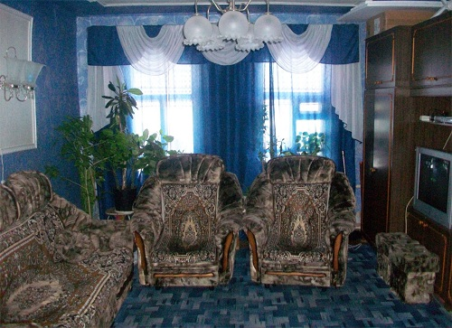 Синие гостиные