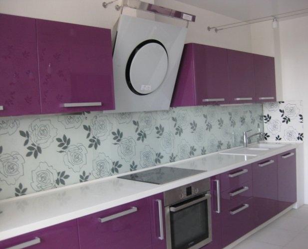 кухни сиреневого цвета Мебель