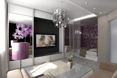 спальня зал фото