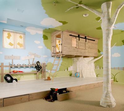 необычные детские комнаты, фото