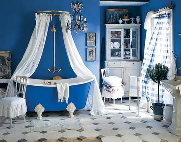Чрезмерного релаксационного воздействия голубого цвета можно избежать...