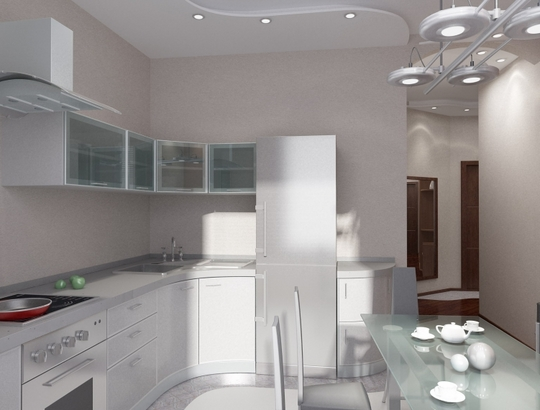 кухня 10 кв м дизайн: