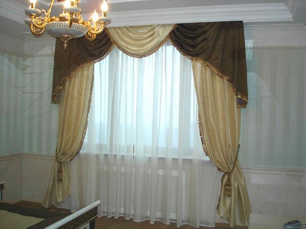 Дизайн портьер в гостиную