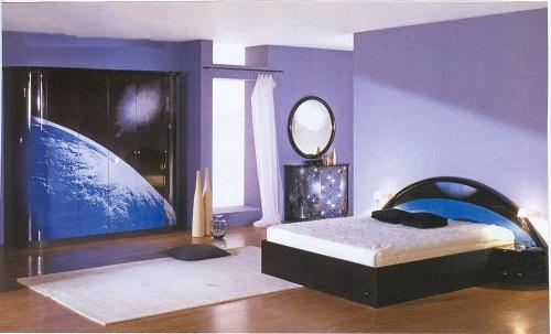 освещение спальни фото