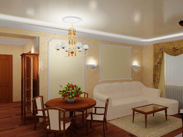 Стили интерьера гостиной